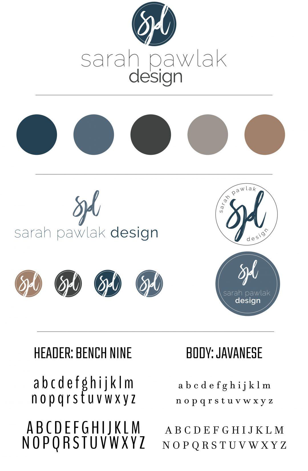 Sarah Pawlak Design | Branding