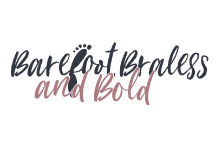 Barefoot, Braless and Bold | Logo