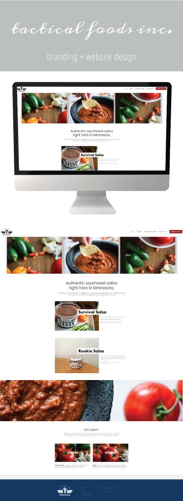 Tactical Foods Inc. | Website Design