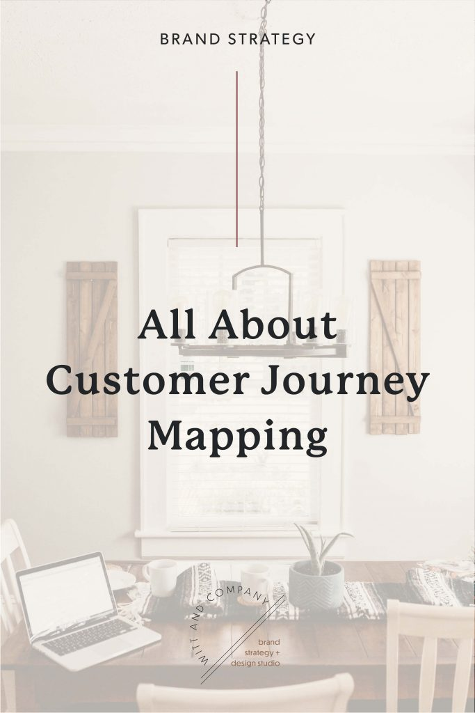 how to map the customer journey graphic