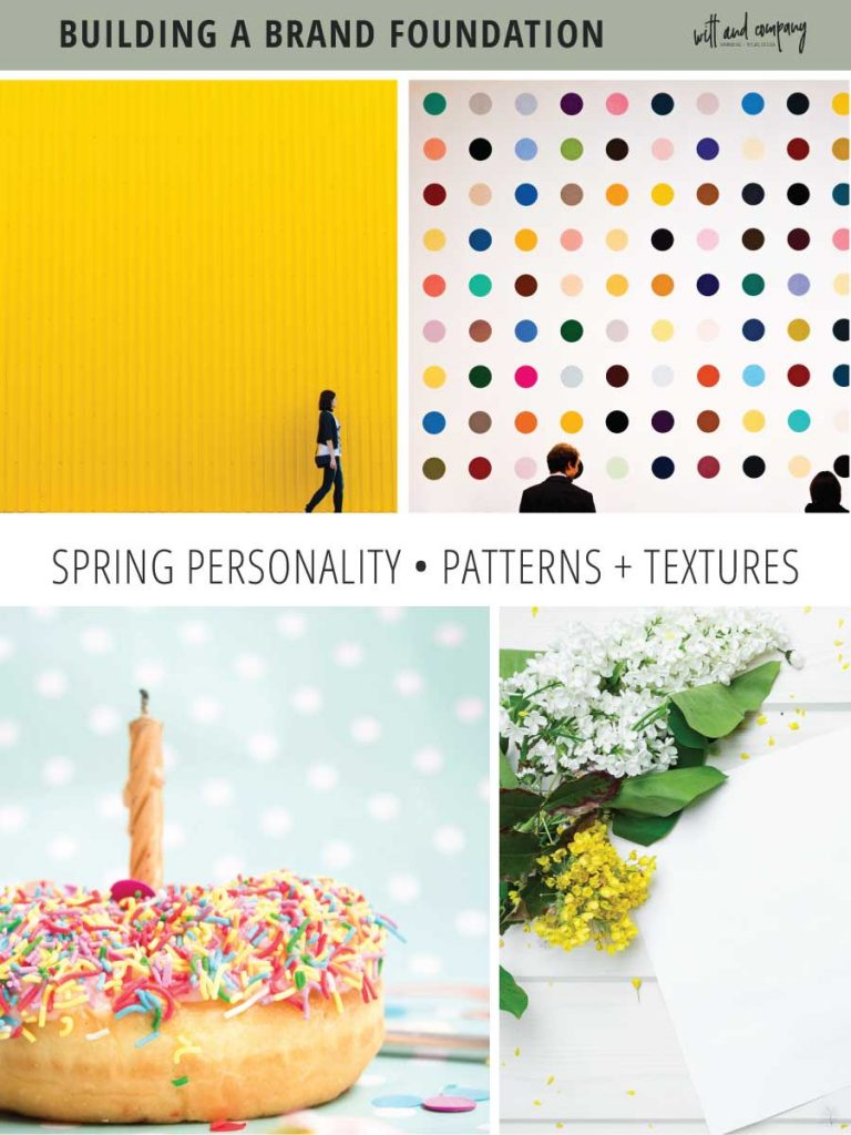 We're diving into seasonal color theory specifics and taking a look at the visual brand elements for the spring brand personality. | seasonal brand theory | color psychology | spring brand | Witt and Company | #wittandcompany colorpsychology #seasonalbrandtheory #seasonalcolor