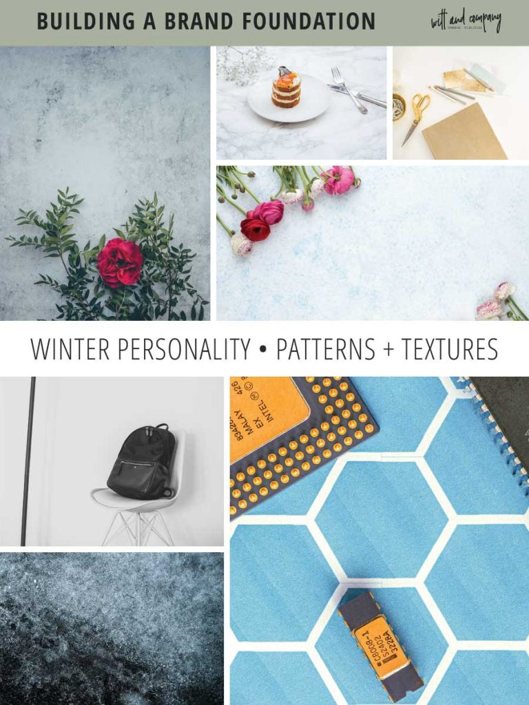 We're diving into seasonal color theory specifics and taking a look at the visual brand elements for the winter brand personality. | seasonal brand theory | color psychology | winter personality | Witt and Company | #wittandcompany #colorpsychology #seasonalbrandtheory #seasonalcolor