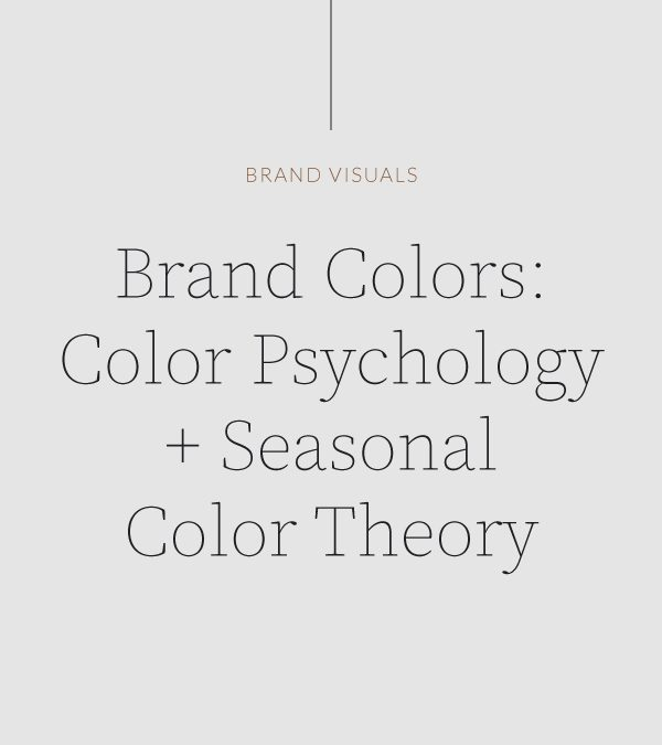 The Basics of Color Psychology and Seasonal Color Theory