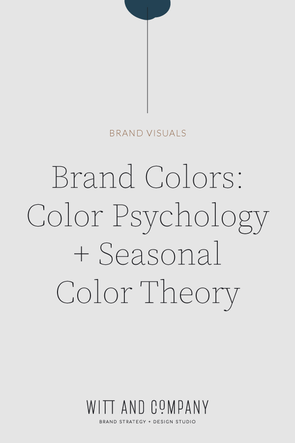 Color Psychology and Seasonal Color Theory | Witt and Company
