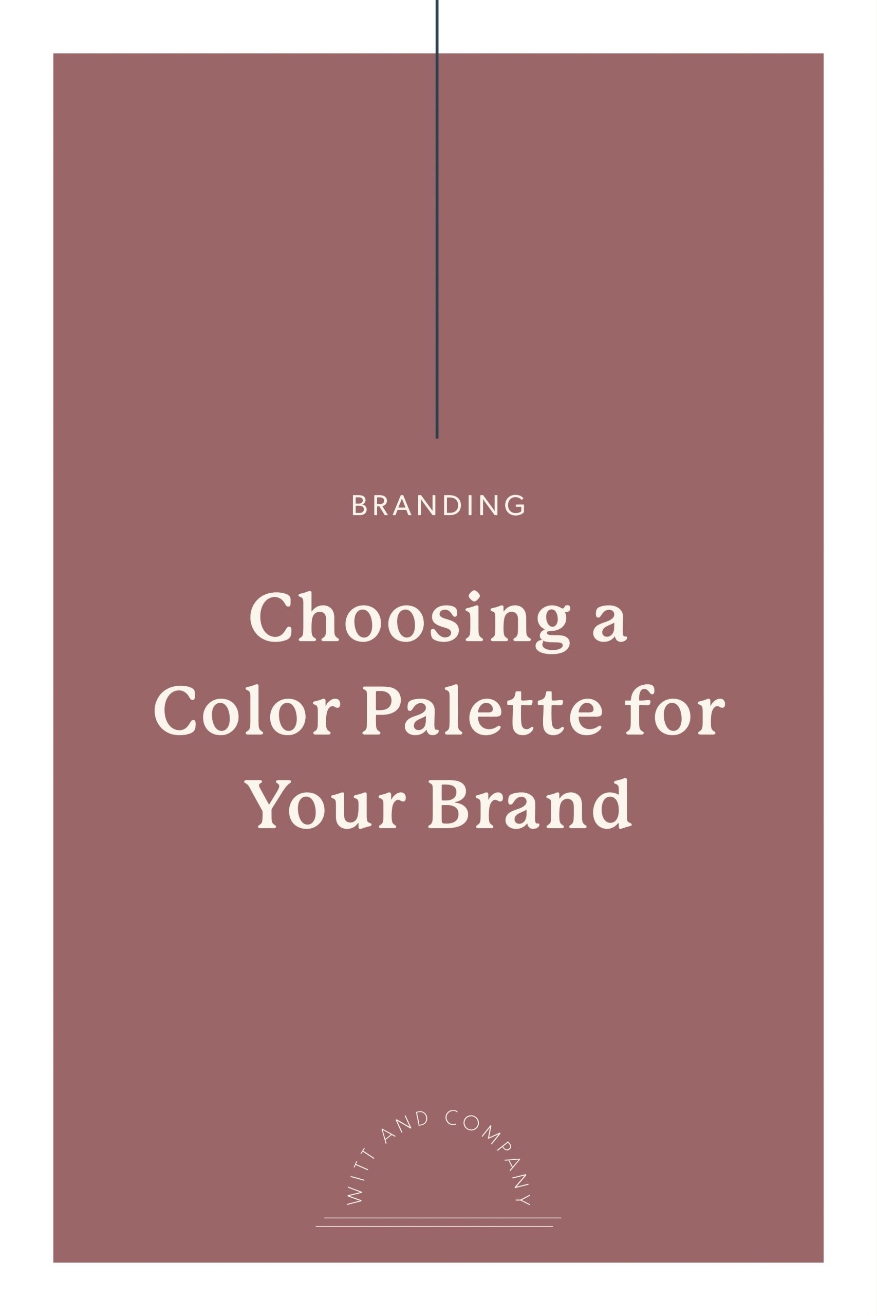 Creating the Right Color Palette for Your Brand