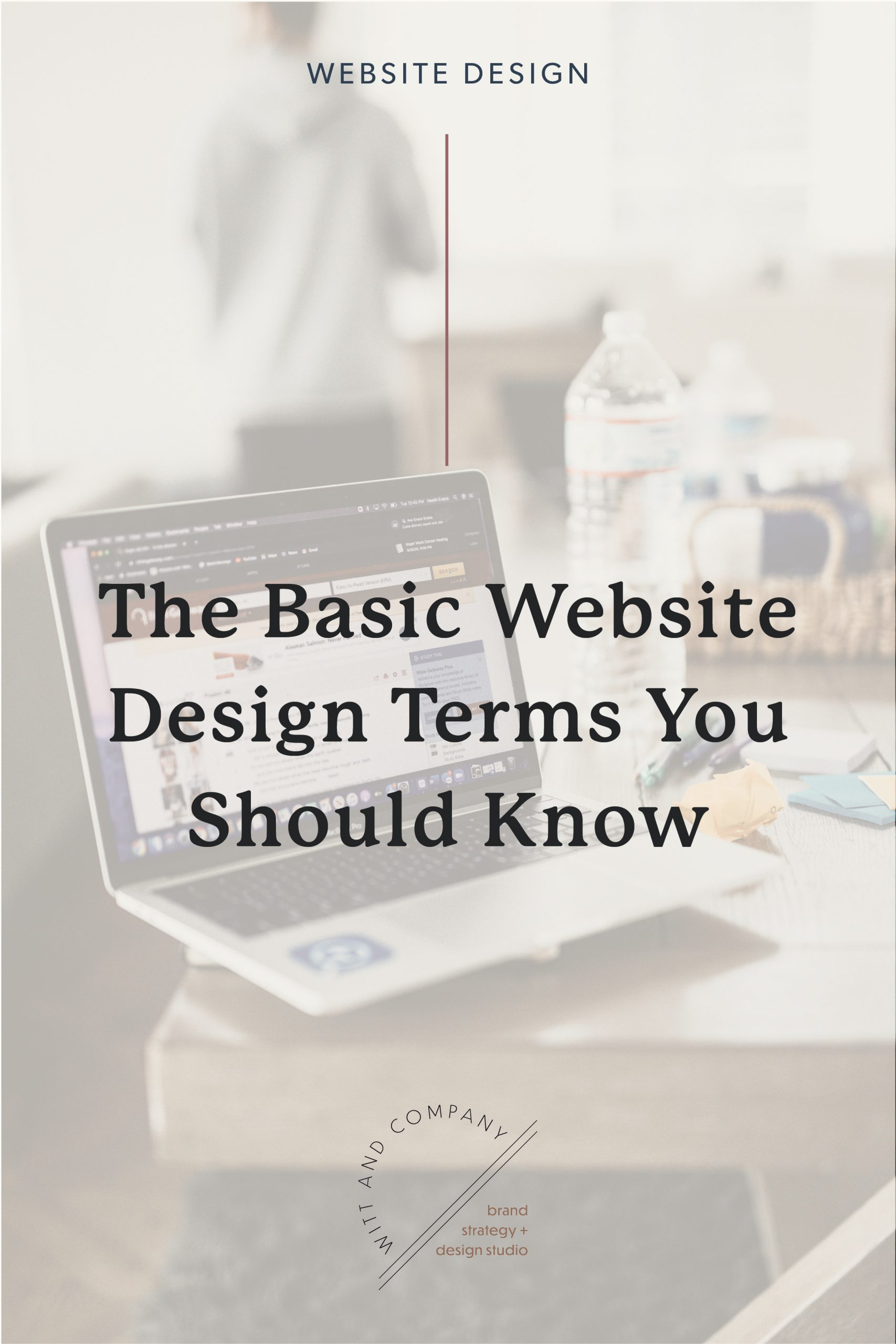 Basic Website Design Terminology – The Web Jargon You Should Know