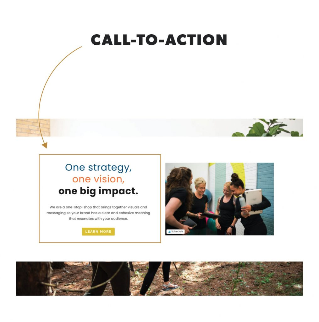 What is a Call to Action in Website Terminology