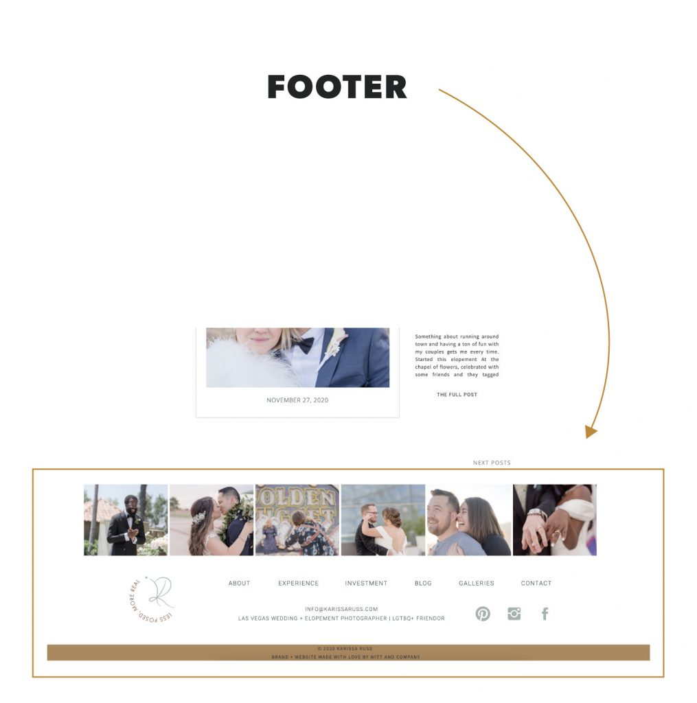 What is a Footer in Website Terminology