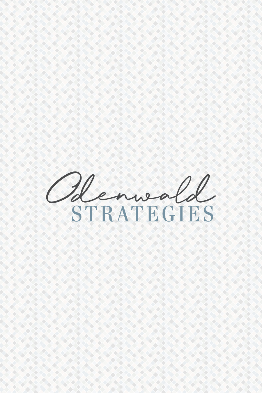Brand Reveal: Odenwald Strategies