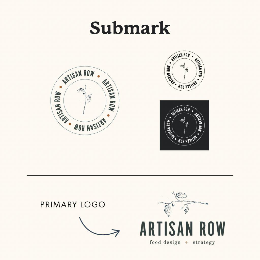 Artisan Row Submark Logo