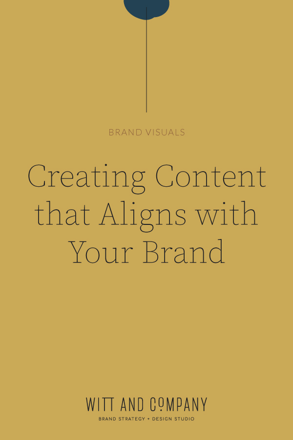 How to Create Content that is On-Brand | Witt and Company