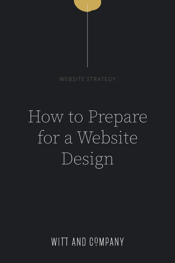 How to Prepare for a New Website Design