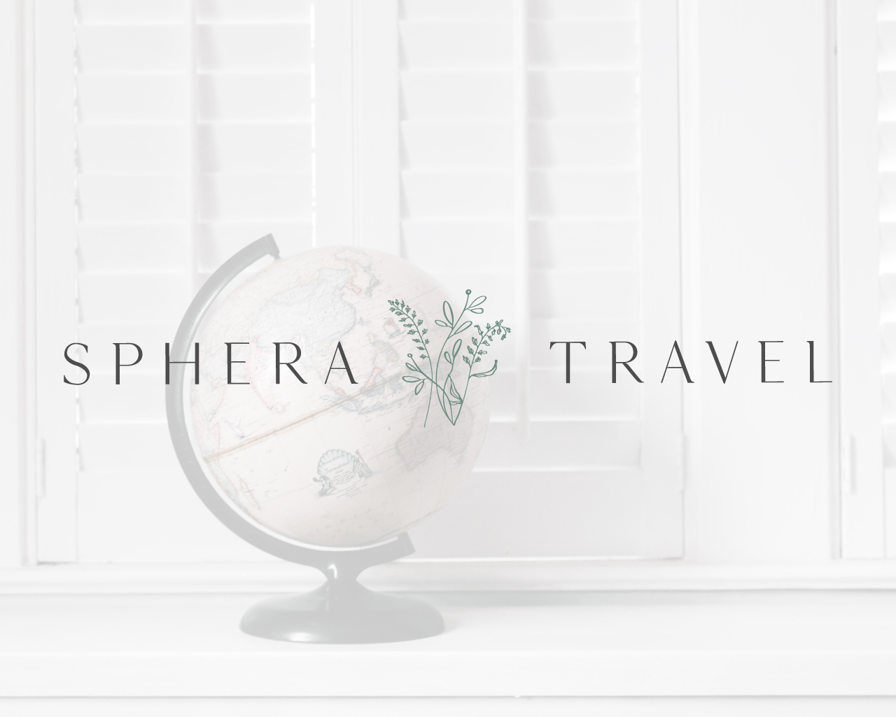 Sphera Travel Alternate Logo Design | Witt and Company