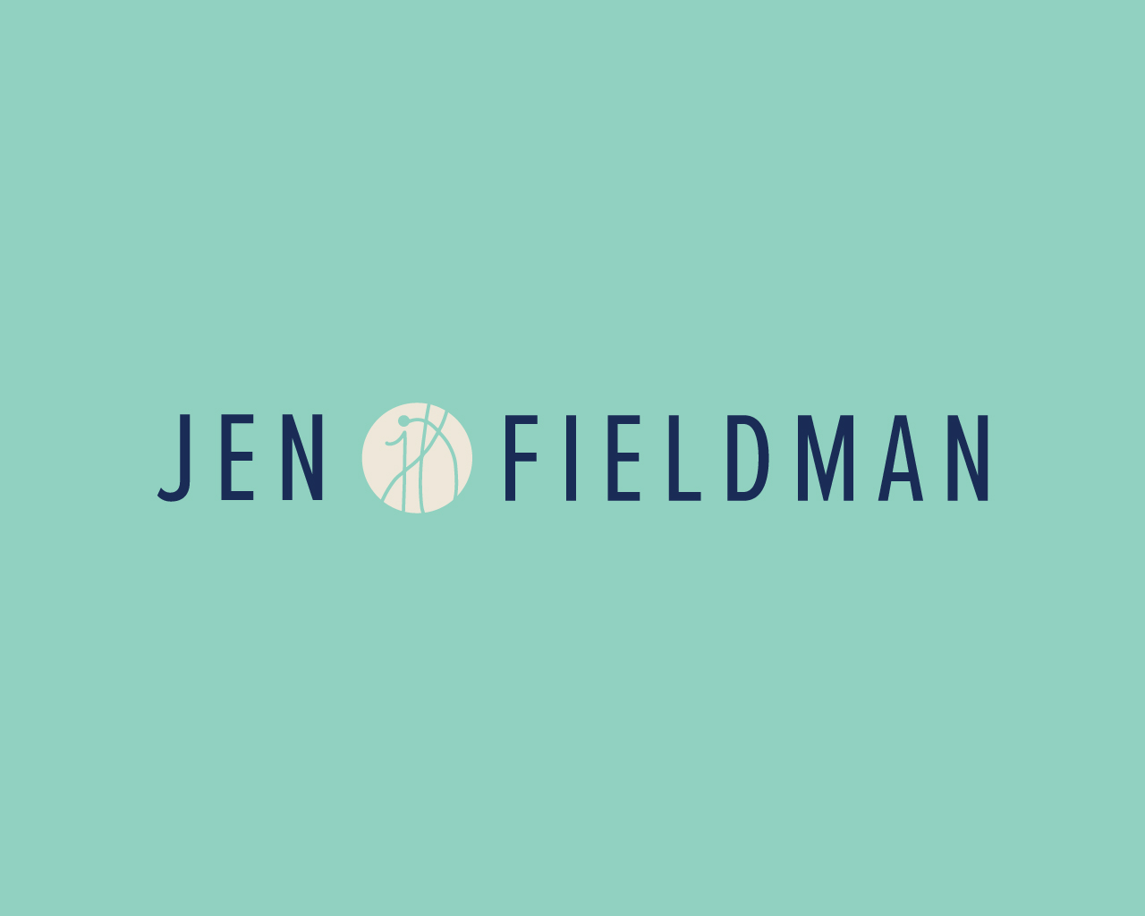 Jen FIeldman Logo Design for Marketing Strategist