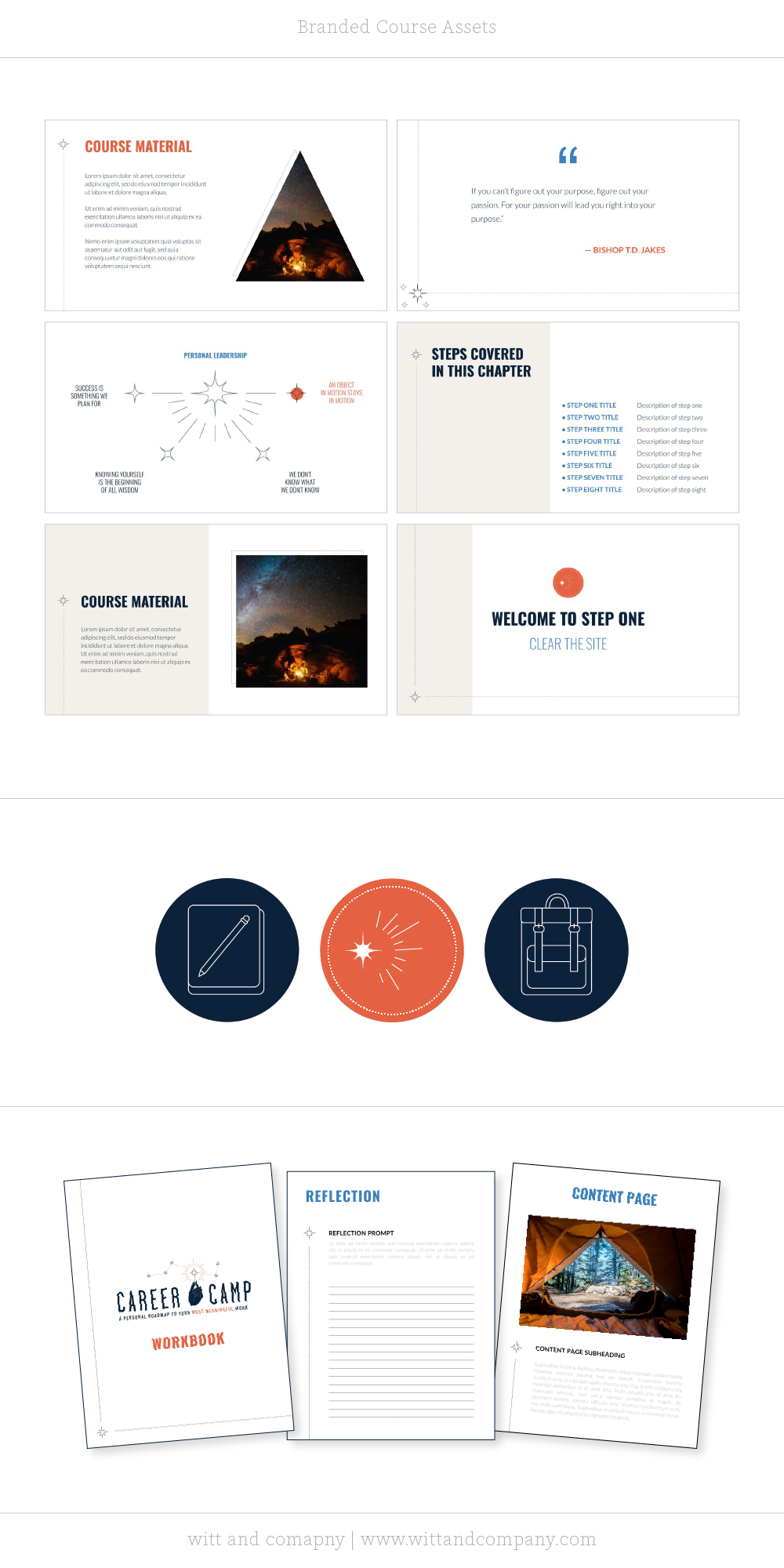 Brand Design for a Course | Witt and Company