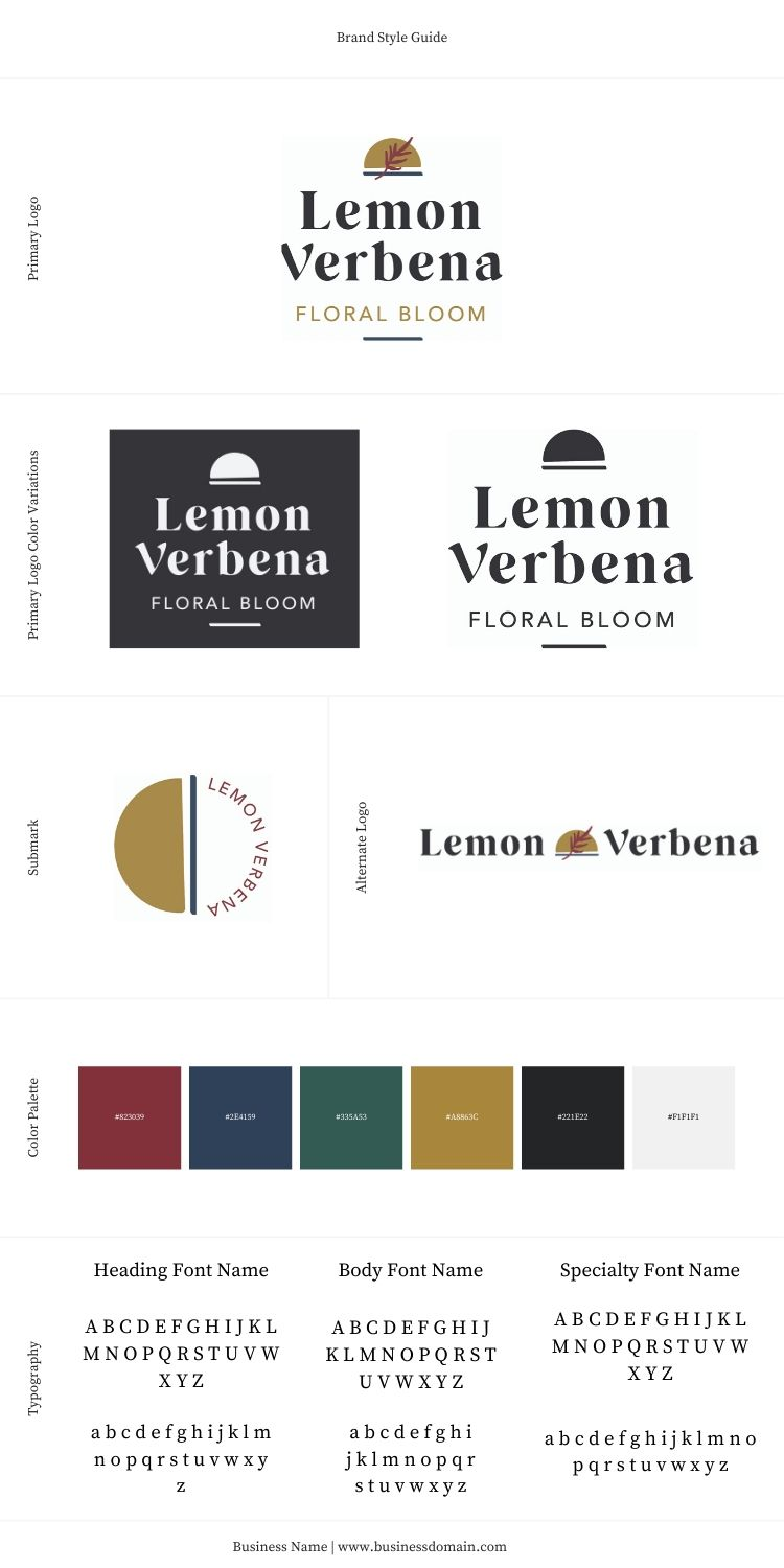 Free Canva Style Guide Template