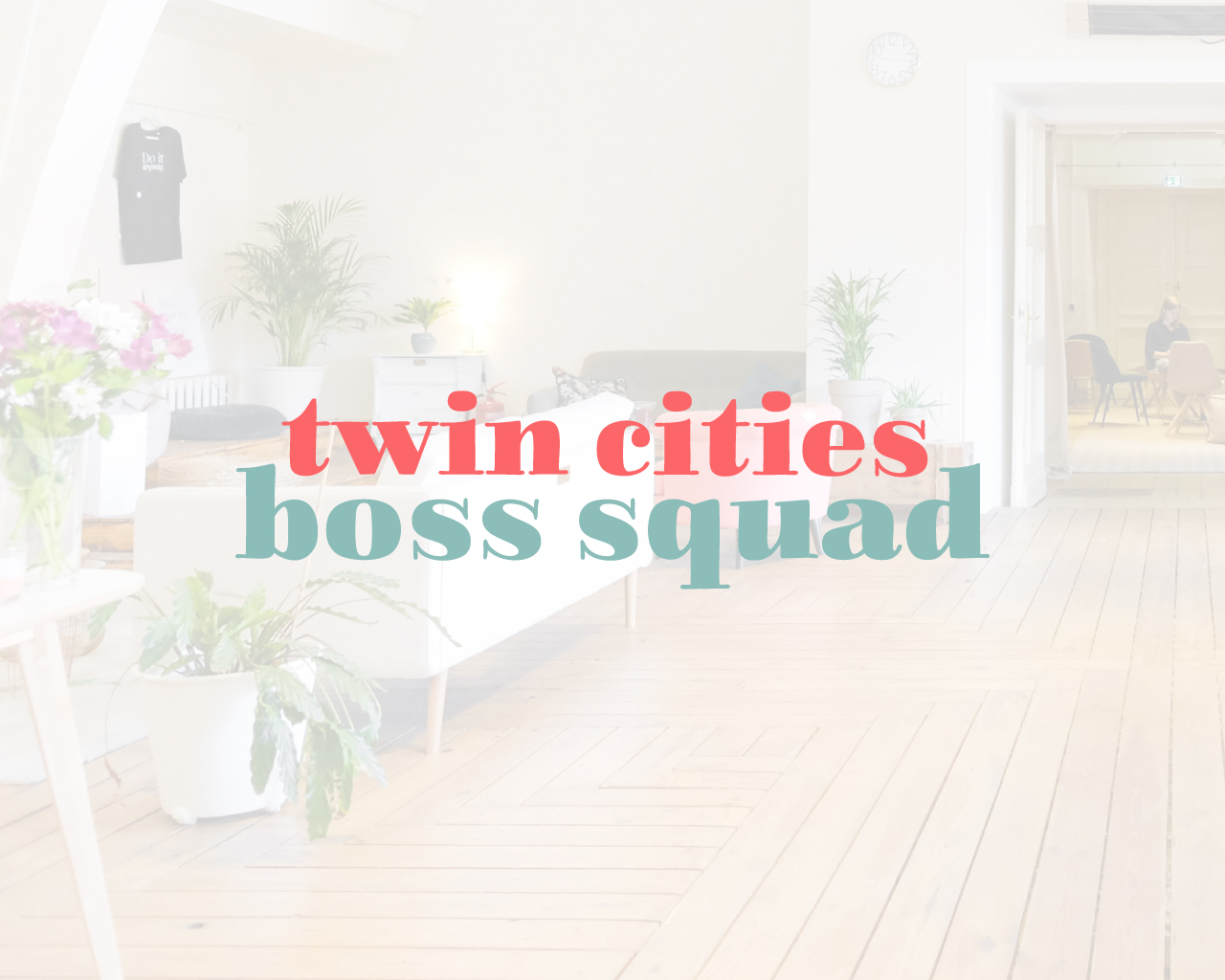 Twin Cities Boss Squad Logo Design | Witt and Company