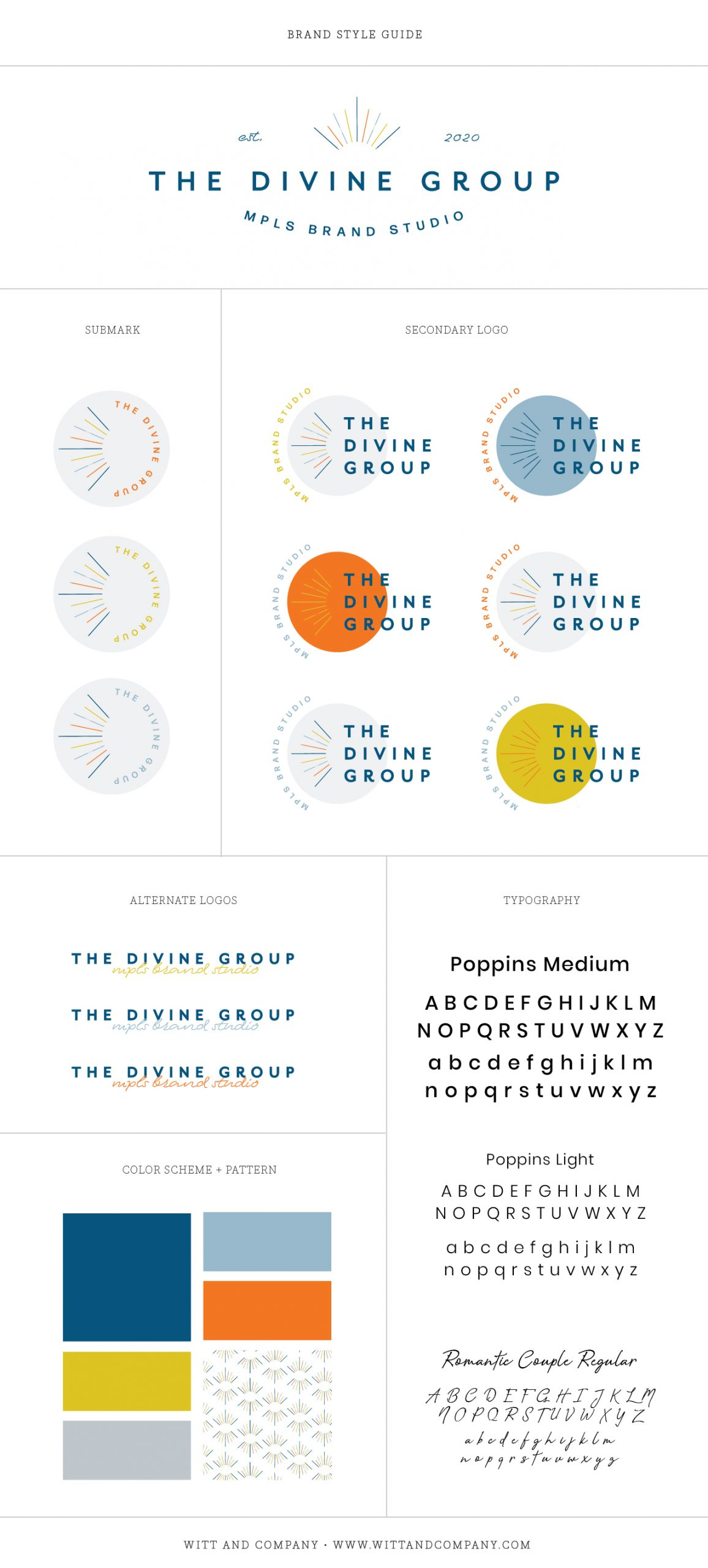 The Divine Group Style Guide | Witt and Company