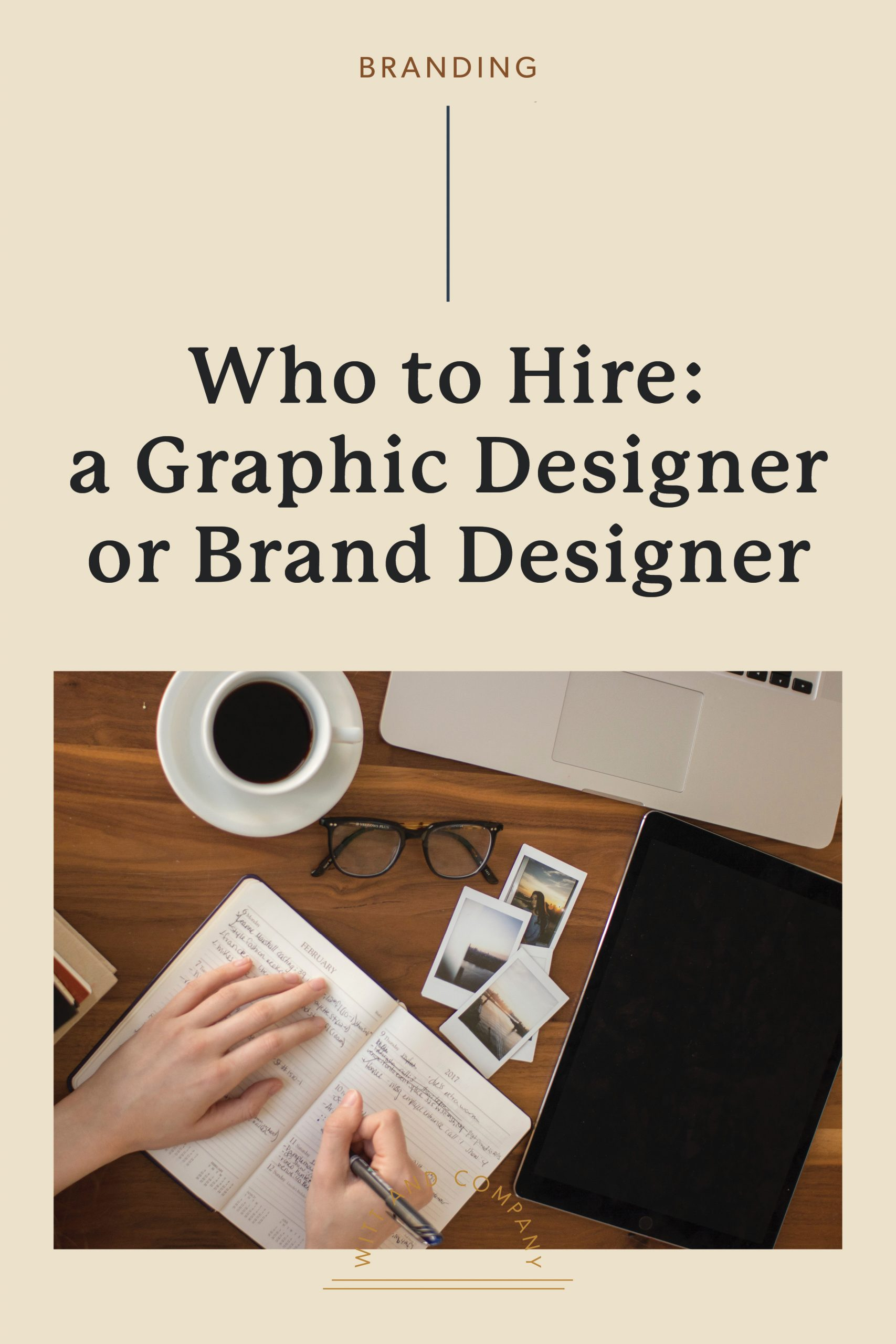 What's the Difference Between a Graphic Designer, a Brand Strategist and Brand Designer?