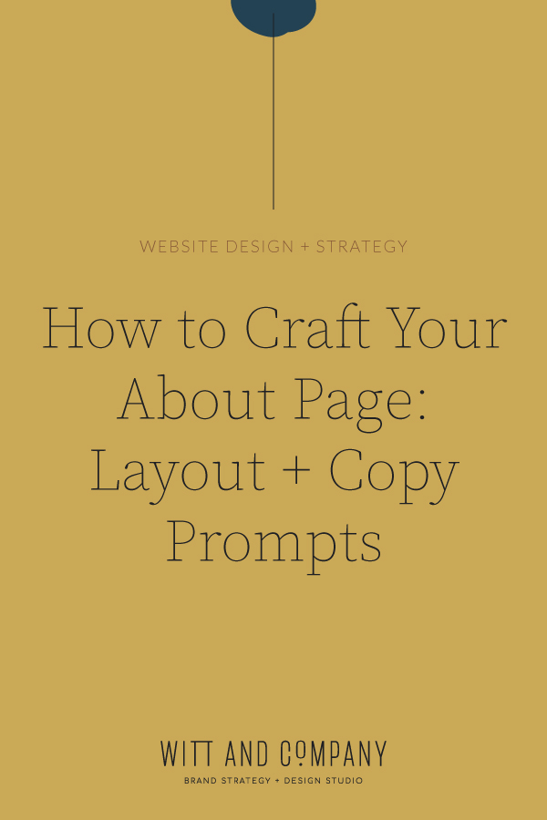 How to Create Your About Page: Layout + Content Prompts