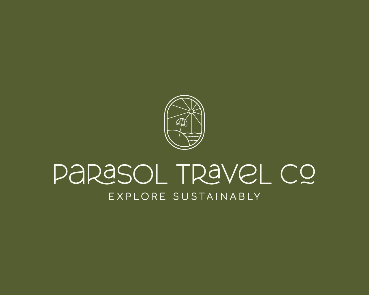 Parasol Travel Co Travel Agency Logo
