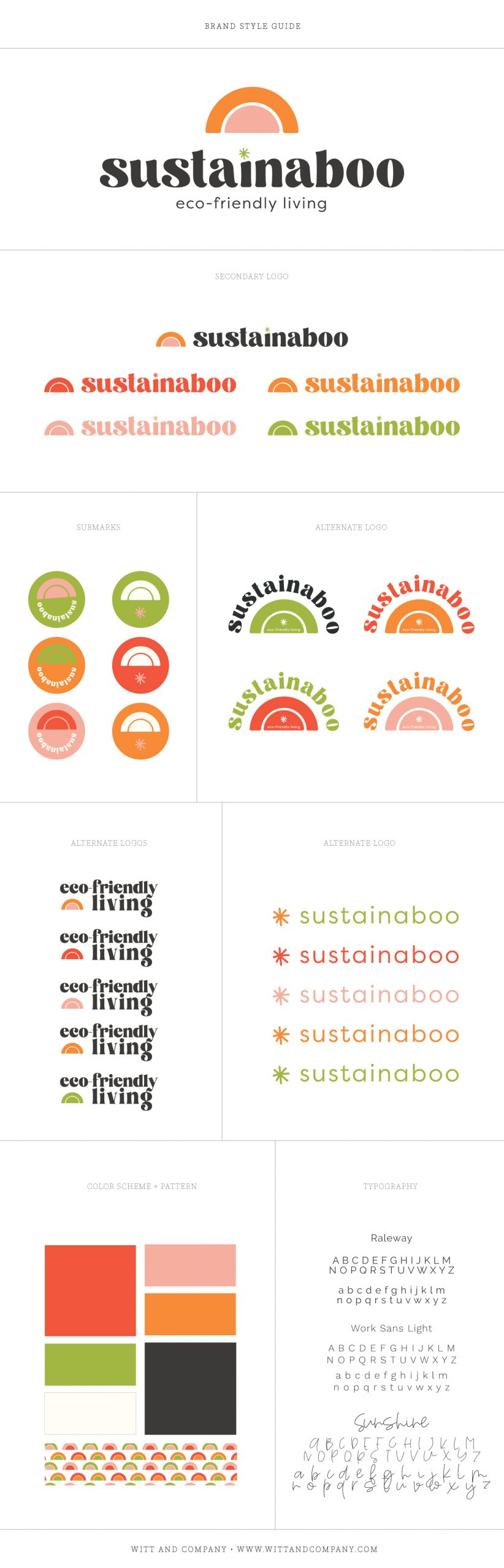Sustainaboo Logo and Brand Design | Witt and Company