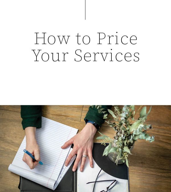 Money and Pricing as a Service Based Business
