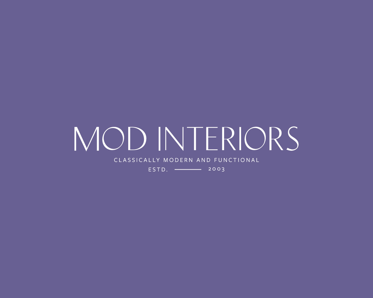Mod Interiors Logo Design | Witt and Company