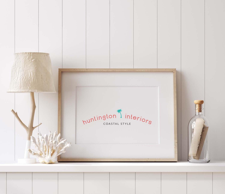 Huntington Interiors Semi-Custom Brand and Logo Design | Witt and Company