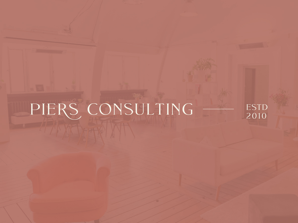 Piers Consulting Semi-Custom Brand Design | Witt and Company