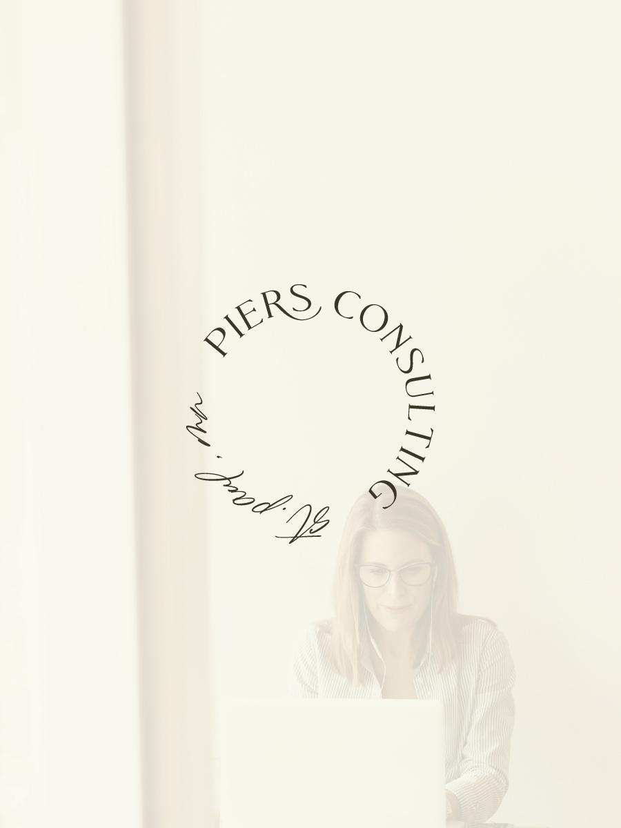 Piers Consulting Semi-Custom Brand Design | Witt and Company