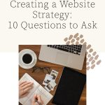10 Questions to Ask When Creating a Website Strategy | Witt and Company