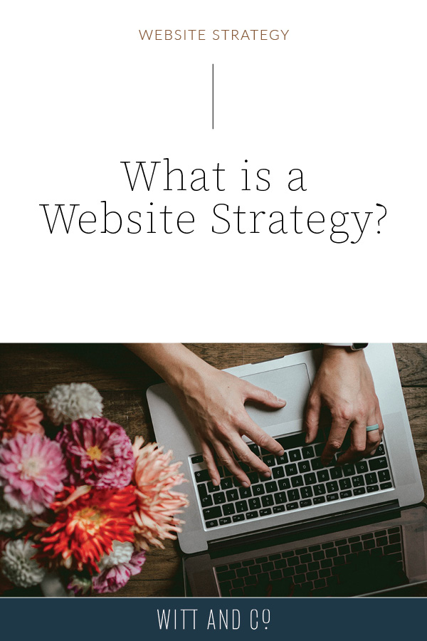 What is a Website Strategy?