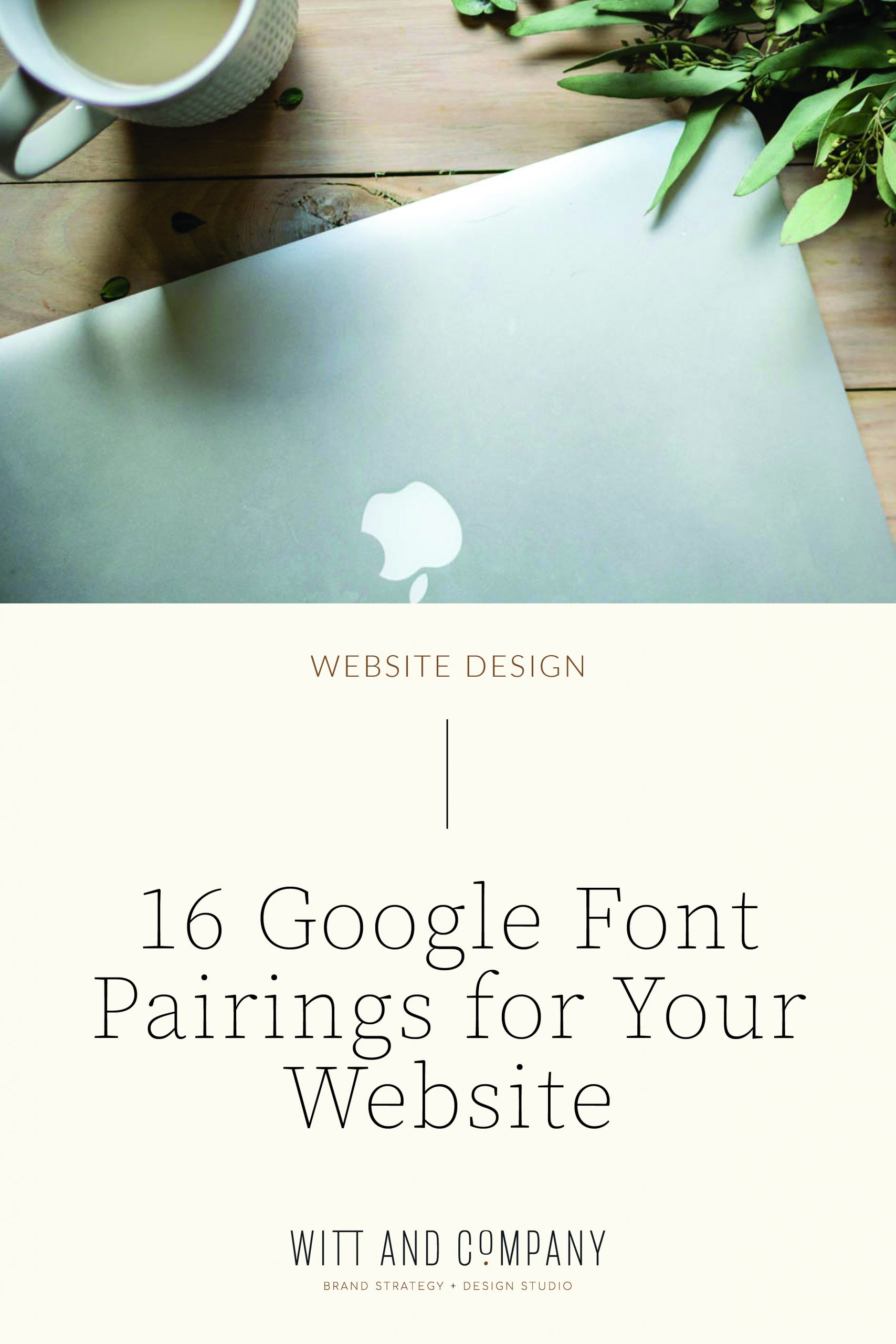 16 Google Font Pairings for Your Website