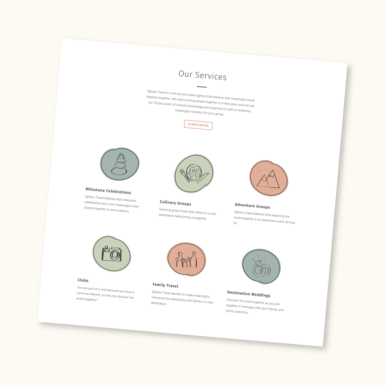 Branded icon examples