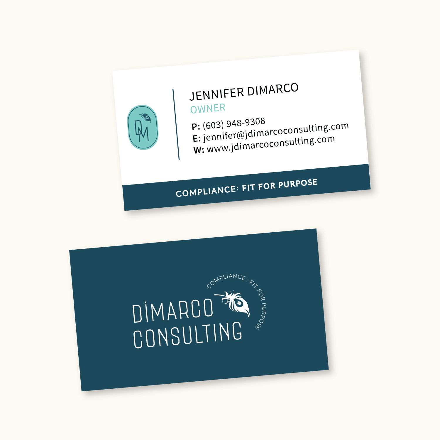 Dimarco business card example