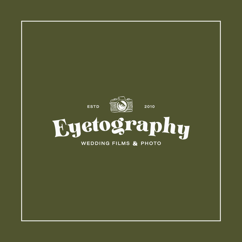 Eyetography primary logo in white