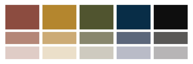 Eyetography brand color palette