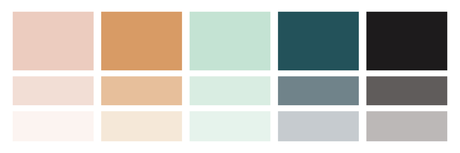 A to B Travels Color Palette
