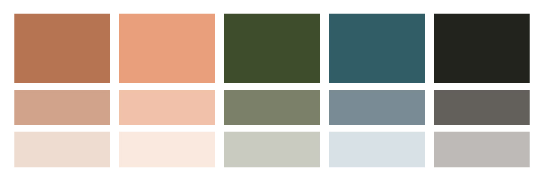 Move Activity Center Brand Design Style Color Scheme