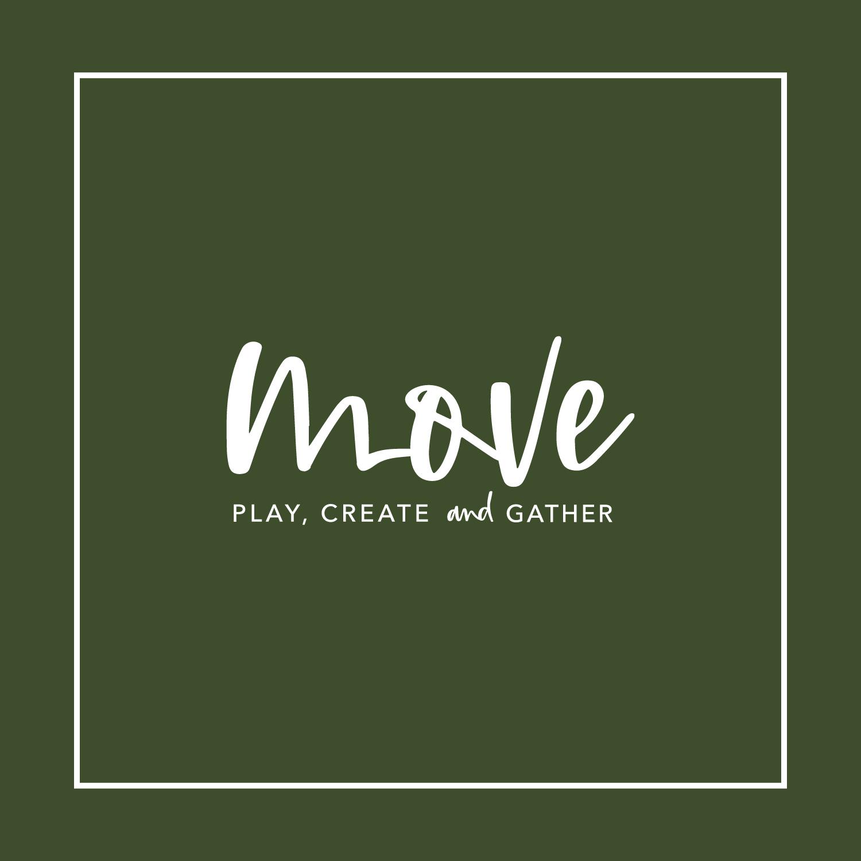 Move Activity Center Brand Design Style Primary Logo
